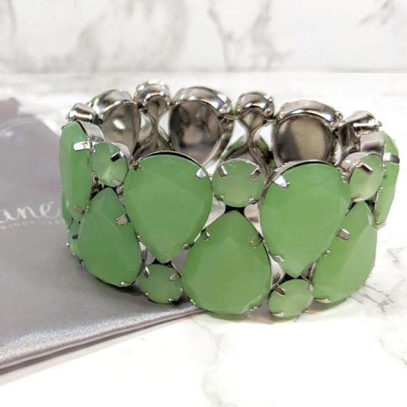 Park Lane Jewelry - Park Lane South Beach Bracelet Green